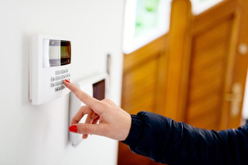 Wireless burglar alarm and CCTV